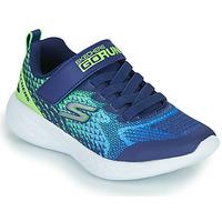 Topánky Chlapci Nízke tenisky Skechers GO RUN 600 Modrá / Zelená