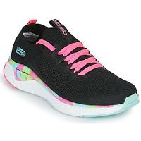Topánky Dievčatá Nízke tenisky Skechers SOLAR FUSE Čierna / Ružová