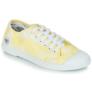Topánky Ženy Nízke tenisky Le Temps des Cerises BASIC 02 Žltá