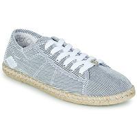 Topánky Ženy Nízke tenisky Le Temps des Cerises BEACH Modrá / Biela