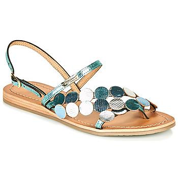 Topánky Ženy Sandále Les Tropéziennes par M Belarbi HOLO Strieborná / Modrá