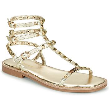 Topánky Ženy Sandále Les Tropéziennes par M Belarbi CORALIE Zlatá