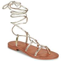 Topánky Ženy Sandále Les Tropéziennes par M Belarbi HELLEN Zlatá