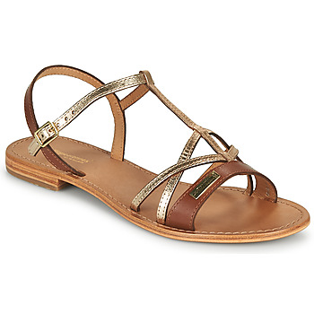 Topánky Ženy Sandále Les Tropéziennes par M Belarbi HIRONELA Svetlá hnedá / Strieborná