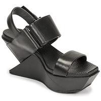 Topánky Ženy Sandále United nude DELTA WEDGE Čierna