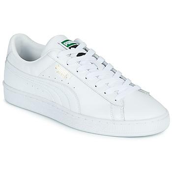 Topánky Muži Nízke tenisky Puma CLASSIC Biela