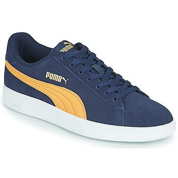 Topánky Muži Nízke tenisky Puma SMASH Modrá / Béžová