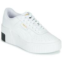 Topánky Ženy Nízke tenisky Puma CALI WEDGE Biela / Čierna