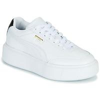 Topánky Ženy Nízke tenisky Puma CALI OSLO Biela / Čierna