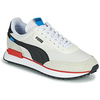 Topánky Muži Nízke tenisky Puma FUTURE RIDER PLAY ON Biela / Čierna / Červená