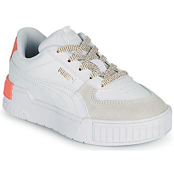 Topánky Dievčatá Nízke tenisky Puma CALI SPORT PS Biela / Ružová