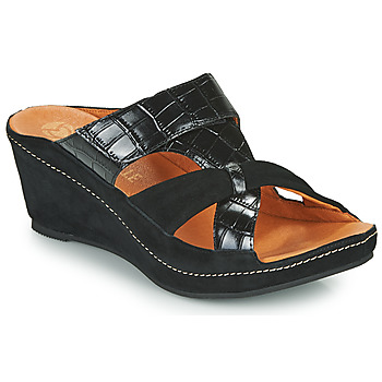 Topánky Ženy Šľapky Mam'Zelle DINAMO Čierna