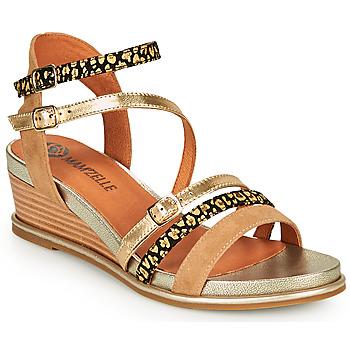 Topánky Ženy Sandále Mam'Zelle NAGA Béžová / Oranžová