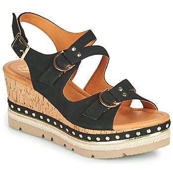 Topánky Ženy Sandále Mam'Zelle PAPOTE Čierna