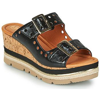 Topánky Ženy Šľapky Mam'Zelle PULSE Čierna