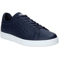 Topánky Muži Nízke tenisky Ea7 Emporio Armani X8X001 XCC51 Modrá