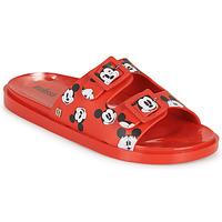 Topánky Ženy Šľapky Melissa WIDE - MICKEY & FRIENDS AD Červená