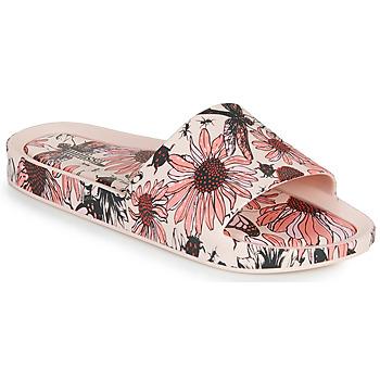 Topánky Ženy Šľapky Melissa BEACH SLIDE PRINT AD Ružová