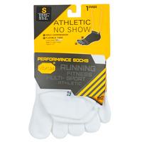 Doplnky Športové ponožky Vibram Fivefingers ATHLETIC NO SHOW Biela