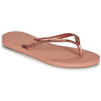 Topánky Ženy Žabky Havaianas SLIM GLITTER II Ružová