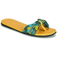 Topánky Ženy Žabky Havaianas YOU SAINT TROPEZ Žltá / Zlatá