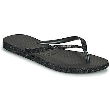 Topánky Ženy Žabky Havaianas SLIM SPARKLE II Čierna