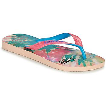 Topánky Ženy Žabky Havaianas TOP FASHION Ružová