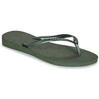 Topánky Ženy Žabky Havaianas SLIM Zelená