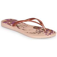 Topánky Ženy Žabky Havaianas SLIM ORGANIC Ružová