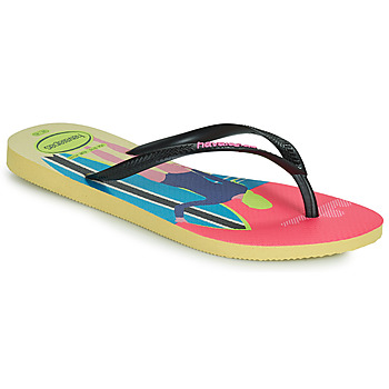 Topánky Ženy Žabky Havaianas SLIM STYLE MIX Žltá