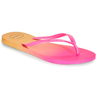Topánky Ženy Žabky Havaianas SLIM GRADIENT Ružová / Žltá