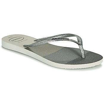 Topánky Ženy Žabky Havaianas SLIM PALETTE GLOW Biela
