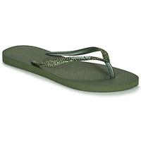 Topánky Ženy Žabky Havaianas SLIM GLITTER II Zelená