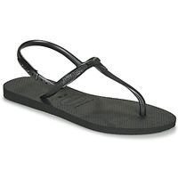 Topánky Ženy Sandále Havaianas TWIST Čierna