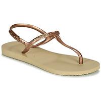 Topánky Ženy Sandále Havaianas TWIST Béžová