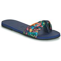 Topánky Ženy Žabky Havaianas YOU SAINT TROPEZ Modrá