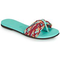 Topánky Ženy Žabky Havaianas YOU ST TROPEZ MESH Modrá