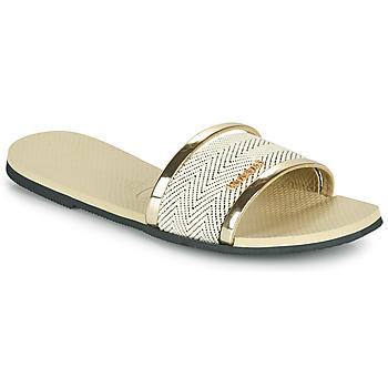 Topánky Ženy Šľapky Havaianas YOU TRANCOSO PREMIUM Béžová