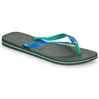 Topánky Žabky Havaianas BRASIL MIX Čierna / Modrá