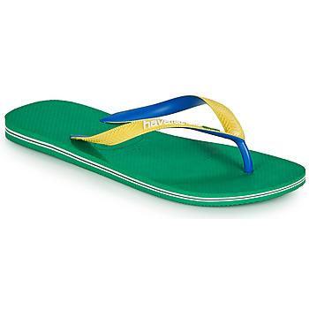 Topánky Muži Žabky Havaianas BRASIL MIX Zelená