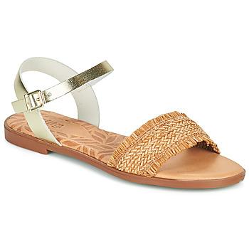 Topánky Ženy Sandále MTNG 51010 Hnedá
