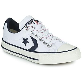 Topánky Deti Nízke tenisky Converse STAR PLAYER OX Biela / Čierna
