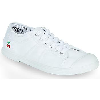 Topánky Ženy Nízke tenisky Le Temps des Cerises BASIC LACE Biela