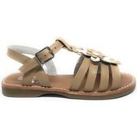 Topánky Dievčatá Sandále D'bébé 24526-18 Hnedá
