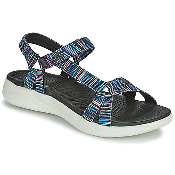 Topánky Ženy Sandále Skechers ON THE GO 600 ELECTRIC Viacfarebná