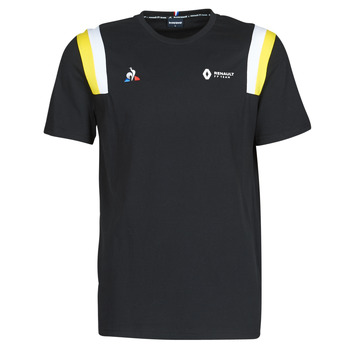 Oblečenie Muži Tričká s krátkym rukávom Le Coq Sportif RENAULT FANWEAR 20 Tee SS M Čierna