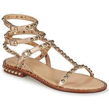 Topánky Ženy Sandále Ash PLAY Zlatá