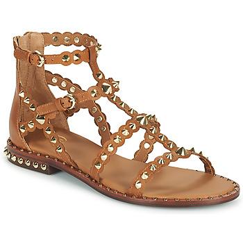 Topánky Ženy Sandále Ash PIXEL Hnedá