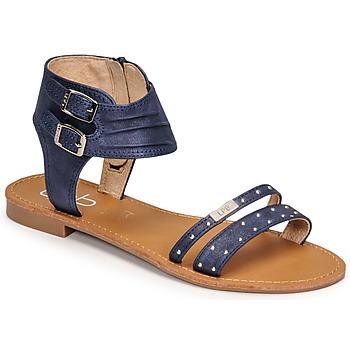 Topánky Ženy Sandále Les Petites Bombes BELIZE Modrá