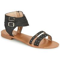 Topánky Ženy Sandále Les Petites Bombes BELIZE Čierna